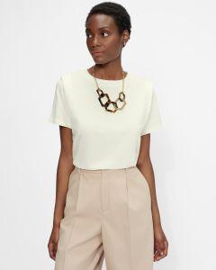 ted-baker-naisten-t-paita-klaaraa-t-shirt-luonnonvalkoinen-1