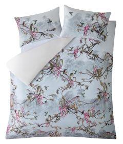ted-baker-pussilakana-hibiscus-grey-150-x-200-single-duvet-harmaa-kuosi-1