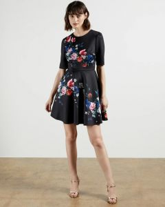 ted-baker-zalena-dress-musta-kuosi-1