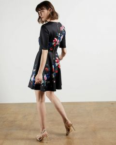 ted-baker-zalena-dress-musta-kuosi-2