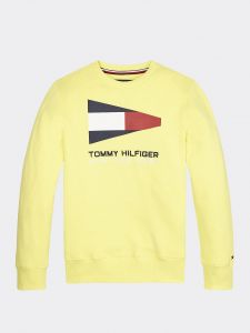 tommy-hilfiger-childrenswear-collegepusero-sailing-flag-graphic-sweatshirt-keltainen-1