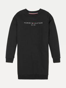tommy-hilfiger-childrenswear-lasten-collegemekko-essential-sweat-dress-l-s-musta-1