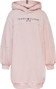tommy-hilfiger-childrenswear-lasten-hupparimekko-essential-hoodie-dress-l-s-pinkki-1
