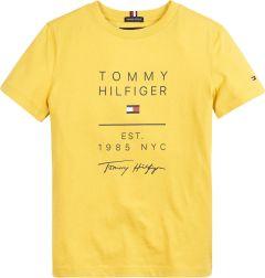 tommy-hilfiger-childrenswear-lasten-t-paita-msw-graphic-tee-s-s-kirkkaankeltainen-1