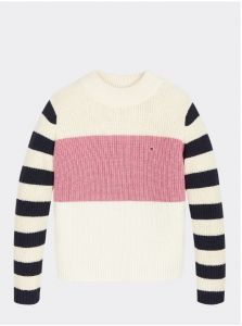 tommy-hilfiger-childrenswear-neule-chunky-stripe-mock-neck-valkopohjainen-kuosi-1
