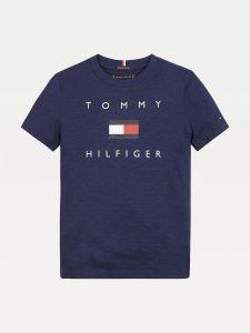 tommy-hilfiger-childrenswear-t-paita-hilfiger-logo-tee-s-s-tummansininen-1
