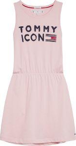 tommy-hilfiger-childrenswear-trikoomekko-essential-icon-dress-vaaleanpunainen-1