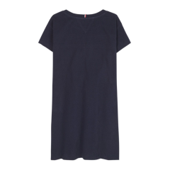 tommy-hilfiger-childrenswear-trikoomekko-flag-jersey-dress-ss-tummansininen-2