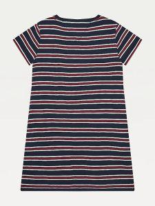tommy-hilfiger-childrenswear-tyttojen-mekko-stripe-rib-dress-raidallinen-sininen-2