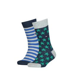 tommy-hilfiger-lasten-sukat-2-pack-stars-and-stripes-sock-sininen-kuosi-1