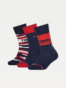 tommy-hilfiger-lasten-sukat-kids-socks-giftbox-tummansininen-1