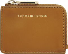 tommy-hilfiger-lompakko-soft-turnlock-cc-holder-konjakinruskea-1
