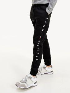 tommy-hilfiger-miesten-collegehousut-basic-branded-sweatpants-musta-1