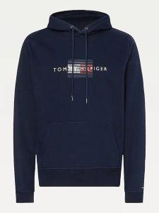 tommy-hilfiger-miesten-collegehuppari-lines-hilfiger-hoodie-tummansininen-2