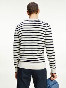 tommy-hilfiger-miesten-collegepaita-breton-stripe-sweater-raidallinen-valkoinen-2