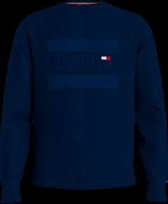 tommy-hilfiger-miesten-collegepaita-pplique-crew-neck-tummansininen-1
