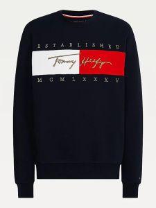 tommy-hilfiger-miesten-collegepaita-signature-flag-sweatshirt-ttt-tummansininen-1