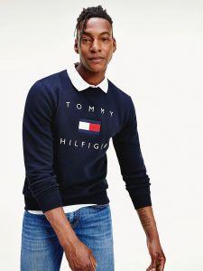 tommy-hilfiger-miesten-collegepaita-tommy-flag-hilfiger-sweatshirt-tummansininen-1