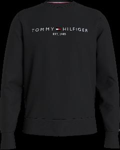 tommy-hilfiger-miesten-collegepaita-tommy-logo-sweatshirt-musta-1