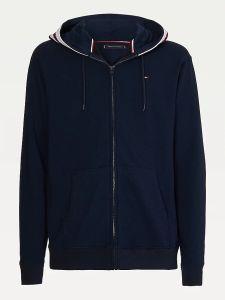 tommy-hilfiger-miesten-huppari-hoodie-ls-fz-hwk-nos-tummansininen-1