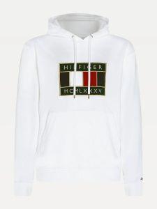 tommy-hilfiger-miesten-huppari-icon-badge-hoody-valkoinen-1
