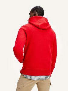 tommy-hilfiger-miesten-huppari-tommy-logo-hoodie-kirkkaanpunainen-2