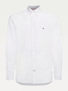 tommy-hilfiger-miesten-kauluspaita-oxford-mini-print-shirt-valkopohjainen-kuosi-1