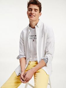 tommy-hilfiger-miesten-kauluspaita-oxford-mini-print-shirt-valkopohjainen-kuosi-2