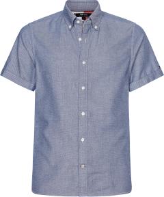 tommy-hilfiger-miesten-kauluspaita-slim-flex-coli-shirt-ss-keskisininen-1
