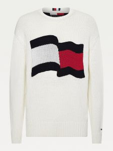 tommy-hilfiger-miesten-neule-big-graphic-sweater-ttt-valkoinen-1