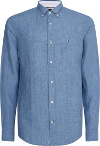tommy-hilfiger-miesten-pellavapaita-pigment-linen-shirt-kirkkaansininen-1