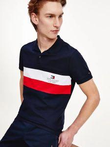 tommy-hilfiger-miesten-pikeepaita-chest-stripe-slim-pikee-raidallinen-sininen-2