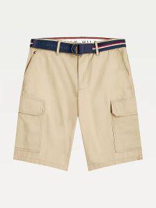 tommy-hilfiger-miesten-shortsit-john-cargo-belt-beige-1
