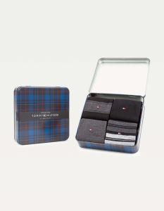 tommy-hilfiger-miesten-sukat-4-pack-gift-box-musta-1