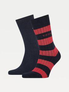 tommy-hilfiger-miesten-sukat-rib-rugby-sock-tummansininen-1