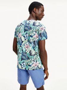tommy-hilfiger-miesten-t-paita-all-over-flower-print-sininen-kuosi-2