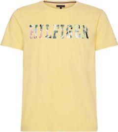 tommy-hilfiger-miesten-t-paita-floral-t-paita-kirkkaankeltainen-1
