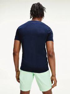 tommy-hilfiger-miesten-t-paita-floral-t-paita-tummansininen-2