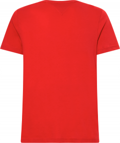 tommy-hilfiger-miesten-t-paita-hilfiger-logo-tee-kirkkaanpunainen-2