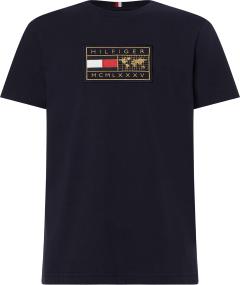 tommy-hilfiger-miesten-t-paita-icon-earth-badge-t-paita-tummansininen-1