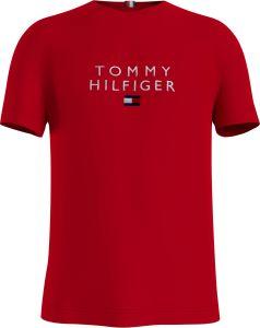 tommy-hilfiger-miesten-t-paita-stacked-tommy-flag-tee-kirkkaanpunainen-1