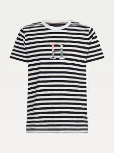 tommy-hilfiger-miesten-t-paita-stripe-floral-tee-raidallinen-sininen-1