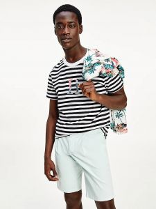tommy-hilfiger-miesten-t-paita-stripe-floral-tee-raidallinen-sininen-2