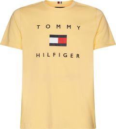 tommy-hilfiger-miesten-t-paita-tommy-flag-hilfiger-tee-kirkkaankeltainen-1