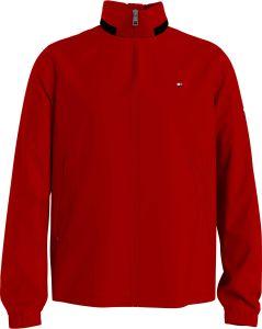 tommy-hilfiger-miesten-takki-stand-collar-jacket-kirkkaanpunainen-1