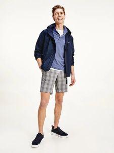 tommy-hilfiger-miesten-takki-stand-collar-jacket-tummansininen-1