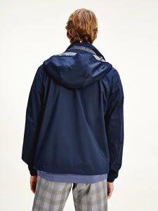 tommy-hilfiger-miesten-takki-stand-collar-jacket-tummansininen-2