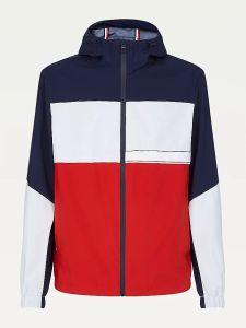 tommy-hilfiger-miesten-takki-tech-block-hooded-jacket-raidallinen-punainen-1