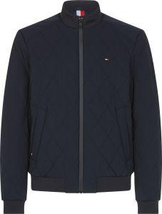 tommy-hilfiger-miesten-tikkitakki-strech-diamond-quilted-jacket-tummansininen-2