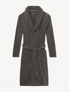 tommy-hilfiger-mieten-kylpytakki-icon-bathrobe-nos-tummanharmaa-1